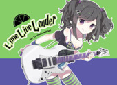Tiv's Lime Live Louder Rough Book