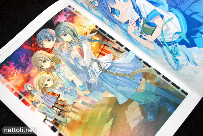Bungaku Shoujo Fantasy Art Book - 4