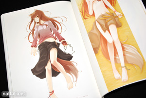Ayakura Juu Illustrations Spice and Wolf - 32