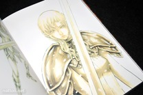 Norihiro Yagi Claymore Illustrations Memorabilia -